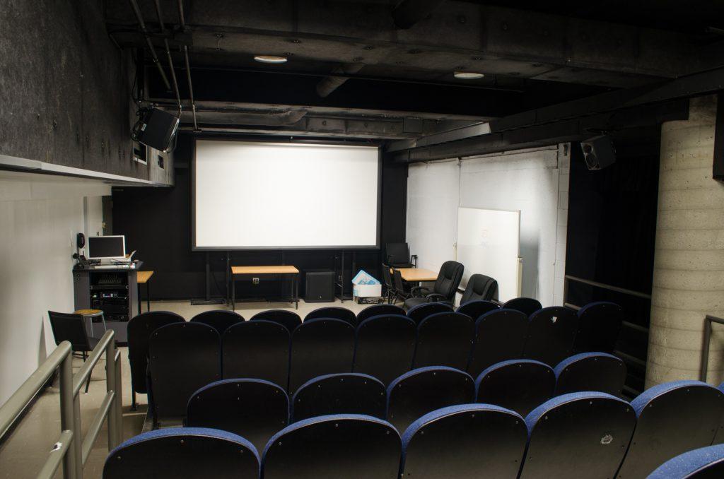 salle de projection cinéma uqam